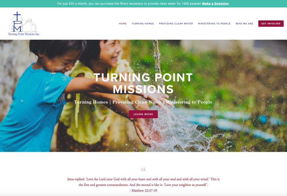 Turning Point Missions Website