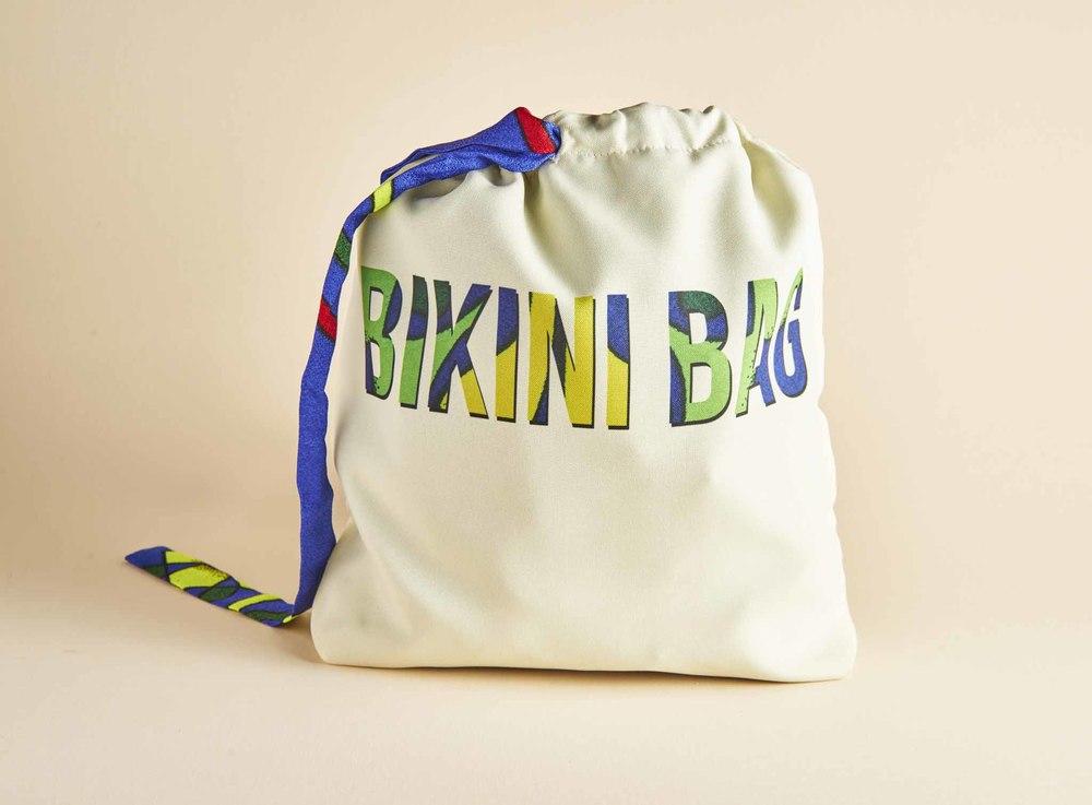 $29.00- BLUE PARUMA BIKINI BAG