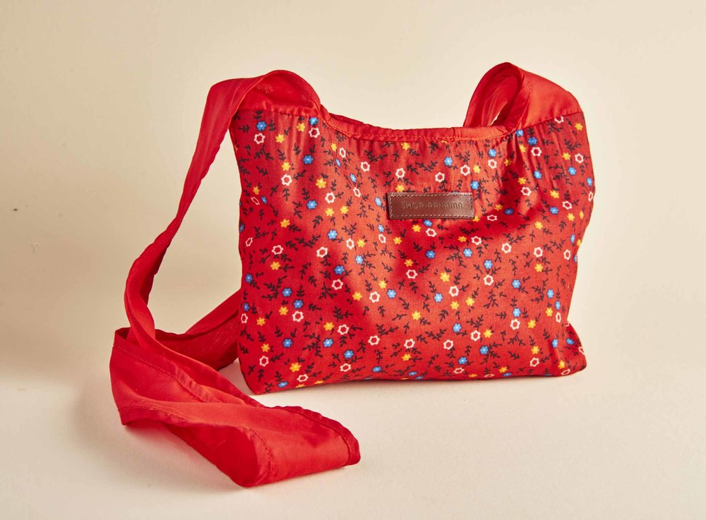 RED ZARAZA CROSSBODY BAG