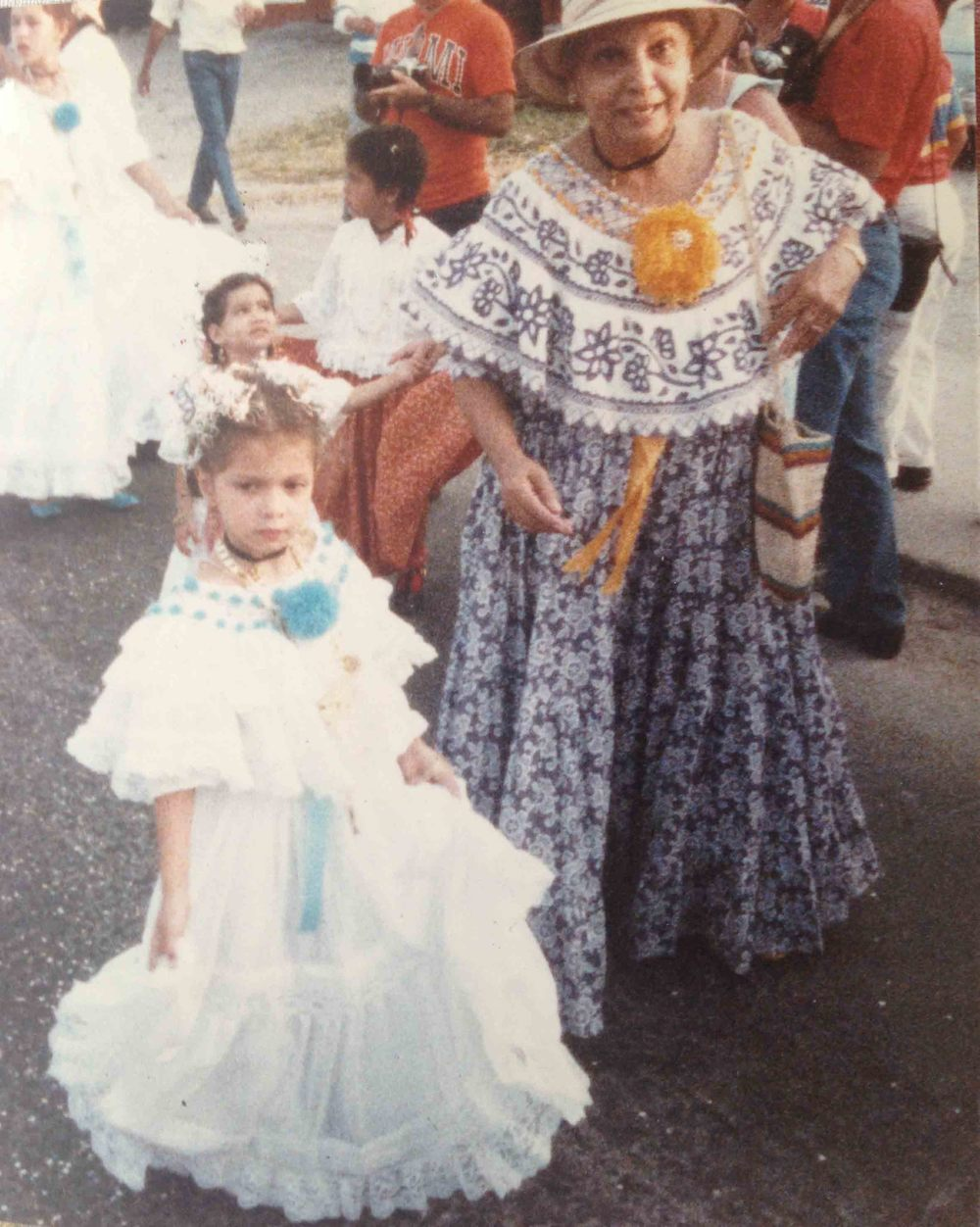 Mi abuela Gloria y yo