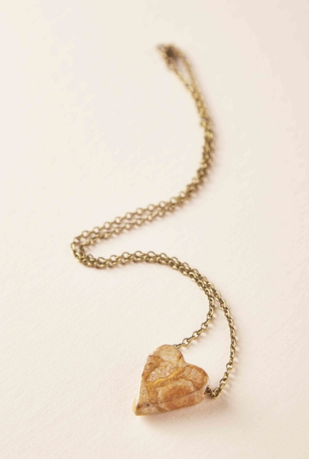 Belmont Heart Shaped Necklace SHOP-PANAMÁ + Olmedo