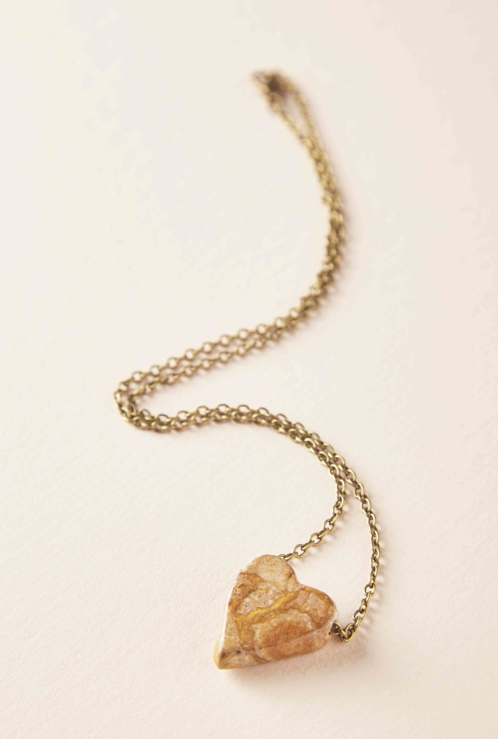 BELMONT HEART SHAPED NECKLACE