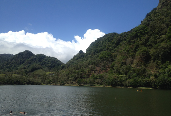 Laguna de San Carlos, Panamá.