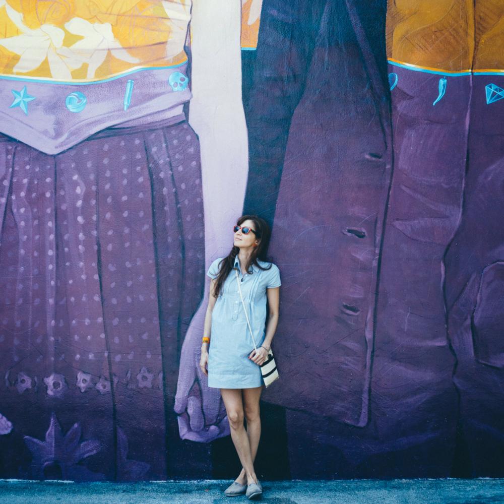 Wynwood Walls, Miami.    Productos:  Shopquira Piñas , Cruzada Pintada