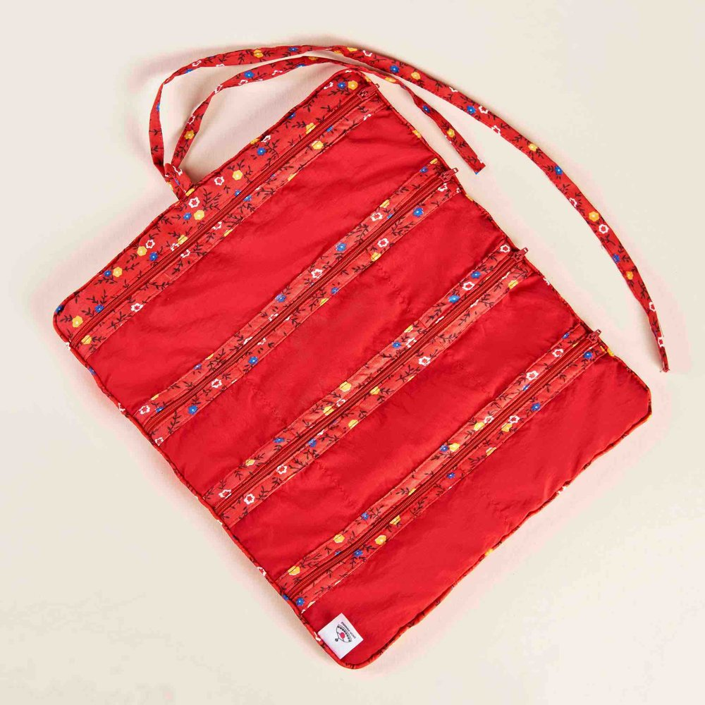 Jewelry Roll Red Zaraza