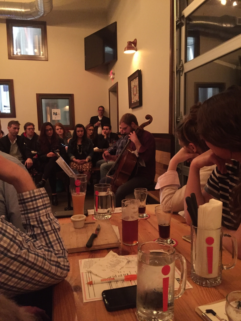 German beers paired with Bach at the KC Bier Company