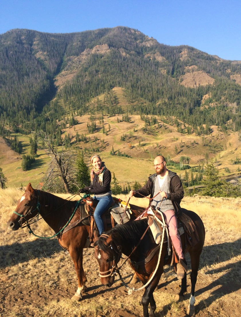 An unforgettable horseback ride through the mountains in Montana
