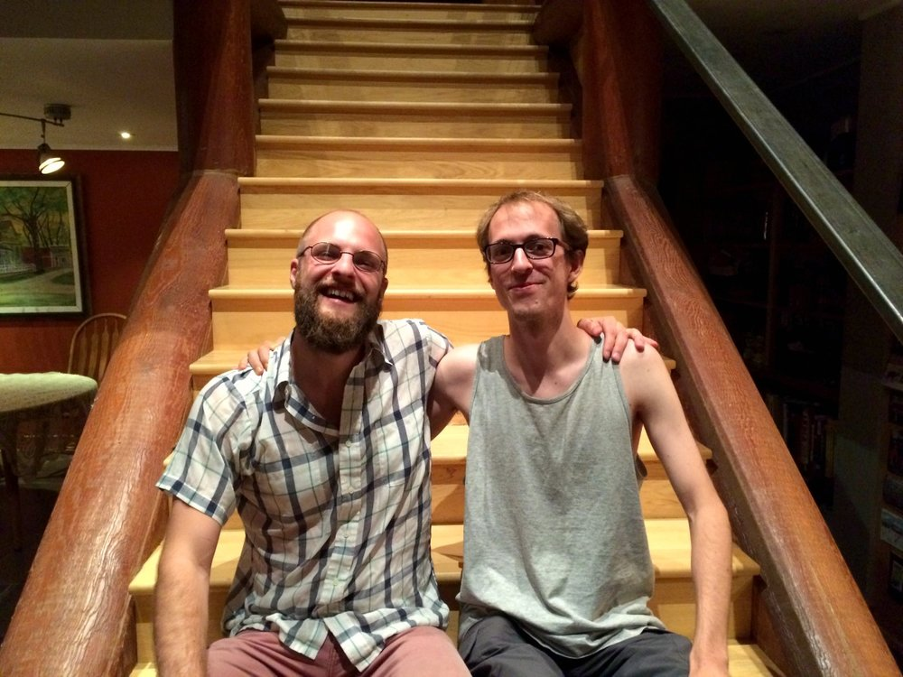 Two Oberlin cellists meet in Lander, Wyoming
