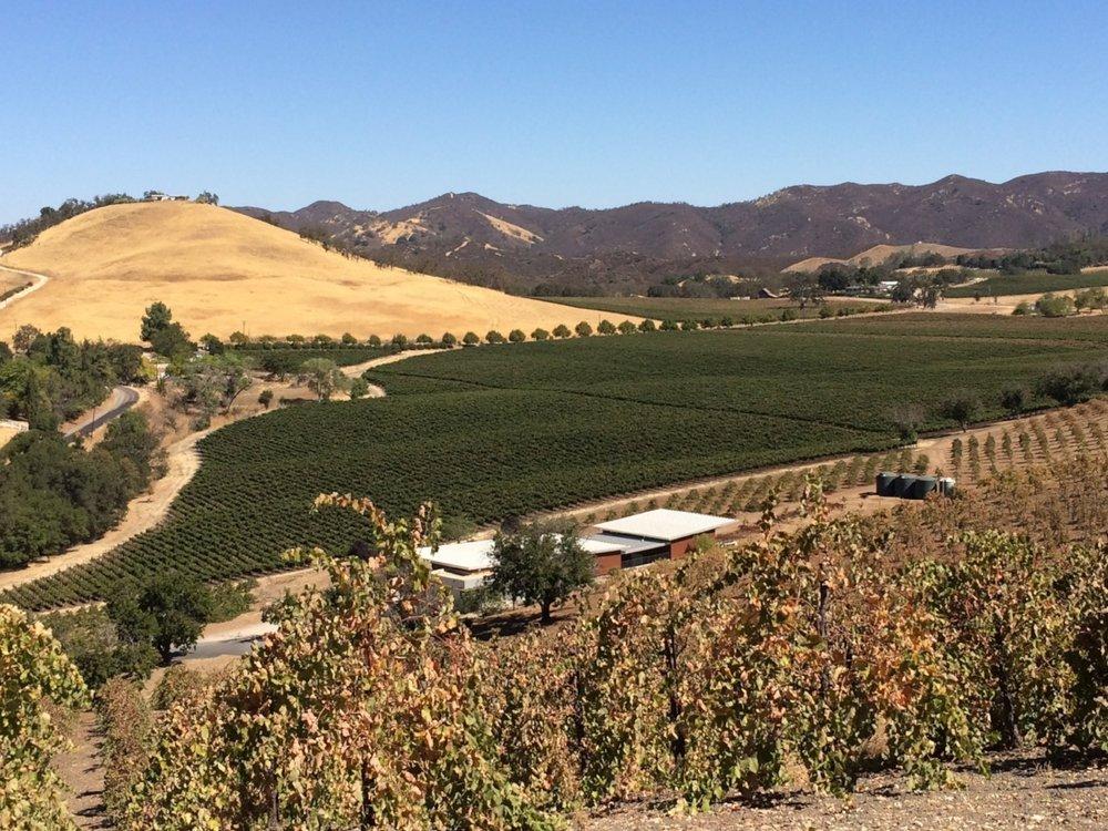 The beautiful kukkula winery in Paso Robles, CA