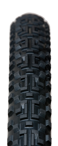 CG XC is a great all condition tire that uses multiple compounds and ASB Snake Bite tech to create a tough and aggressive tire. Available in Tubeless as well.