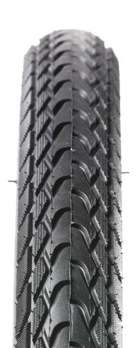 Excellent urban tire with PT puncture resistant technology and a long wearing Mile Cruncher compound.