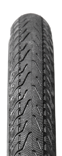 Excellent urban or touring tire with 400D Lite Extra casing cord for a supple and responsive ride. PT Shield for puncture protection and ZSG Natural Compound for excellent all-weather performance.