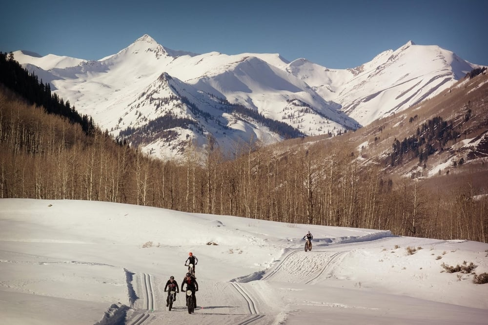 Fat Biking in Crested Butte comes with great trails and awesome views.