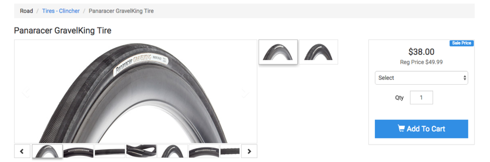Buy Panaracer GravelKing tires now at Excel Sports!