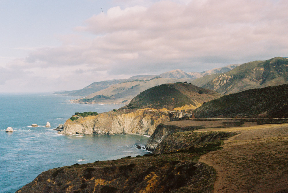 Big Sur, during our honeymoon in October 2015