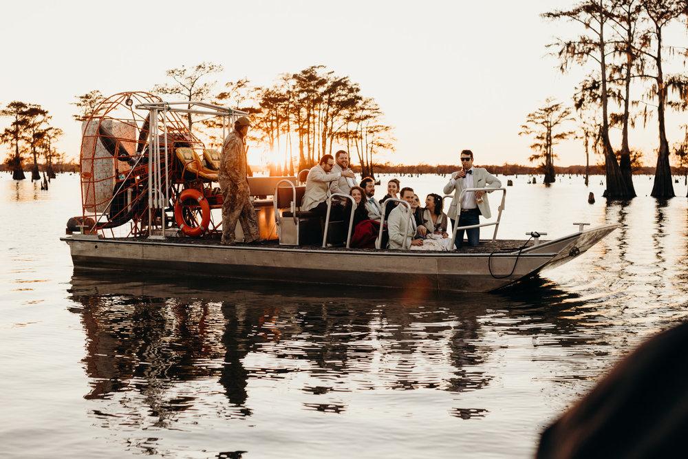 Adventurous Louisiana Wedding Photography
