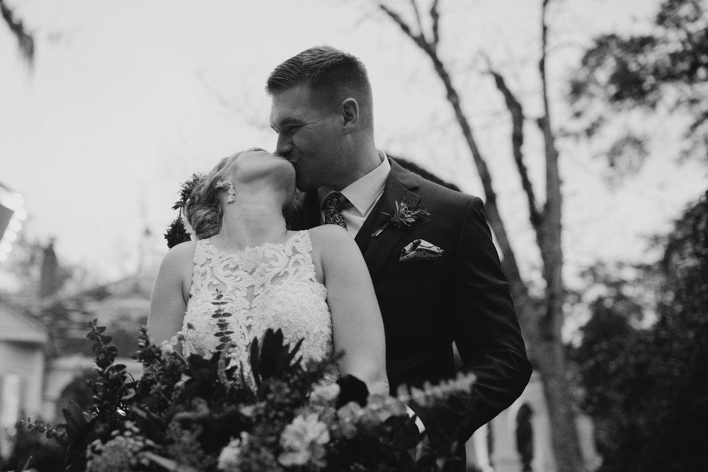 A Moody, Romantic Winter Wedding at Maison Lafitte | Mandeville, Louisiana | Gabrielle Hail Photography