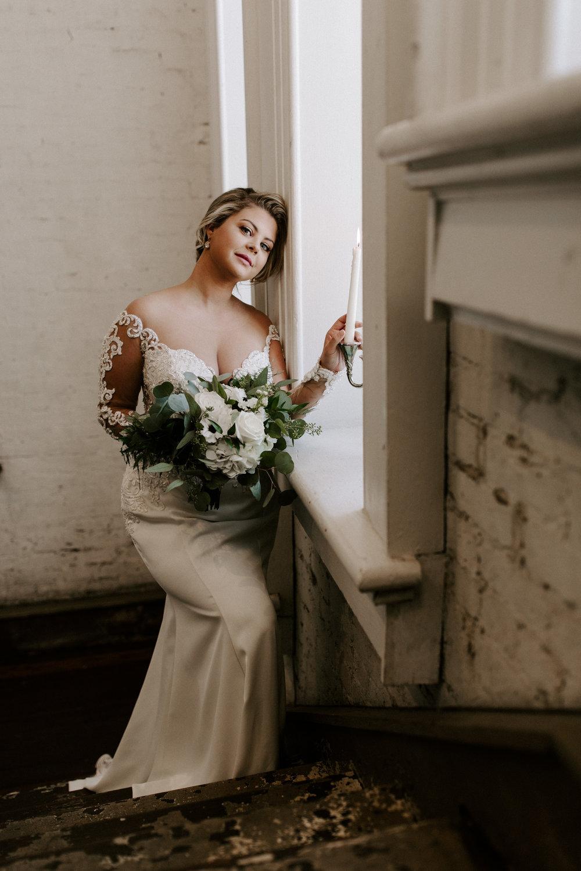 An Ultra Feminine, Elegant Bridal Session at Felicity Church   New Orleans, Louisiana   Wedding Photography
