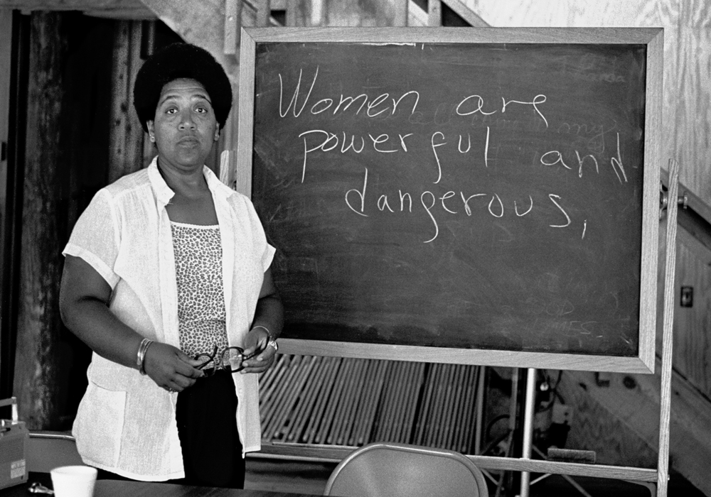 Audre Lorde, 1989
