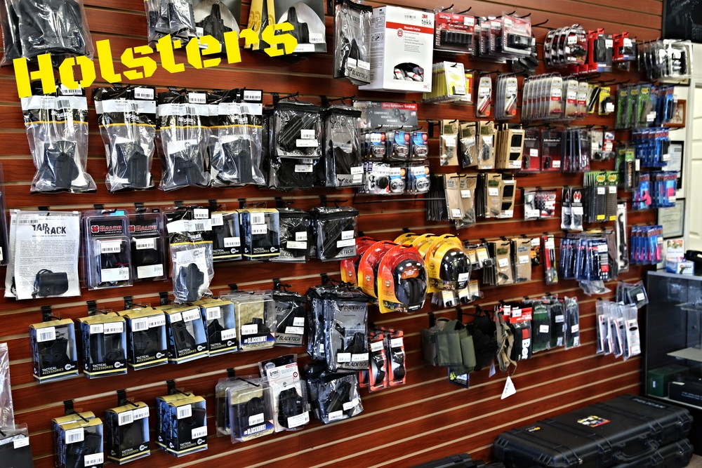 Whether you are looking for inside or outside the waistband holsters, we supply what you need!  Both kydex and leather abound in our shop, so you can find what you're looking for.  We proudly carry a wide variety of reputable manufactures like: -Galco -Sig Sauer -BladeTech -Fobus -Blackhawk -BlackPoint  and more!