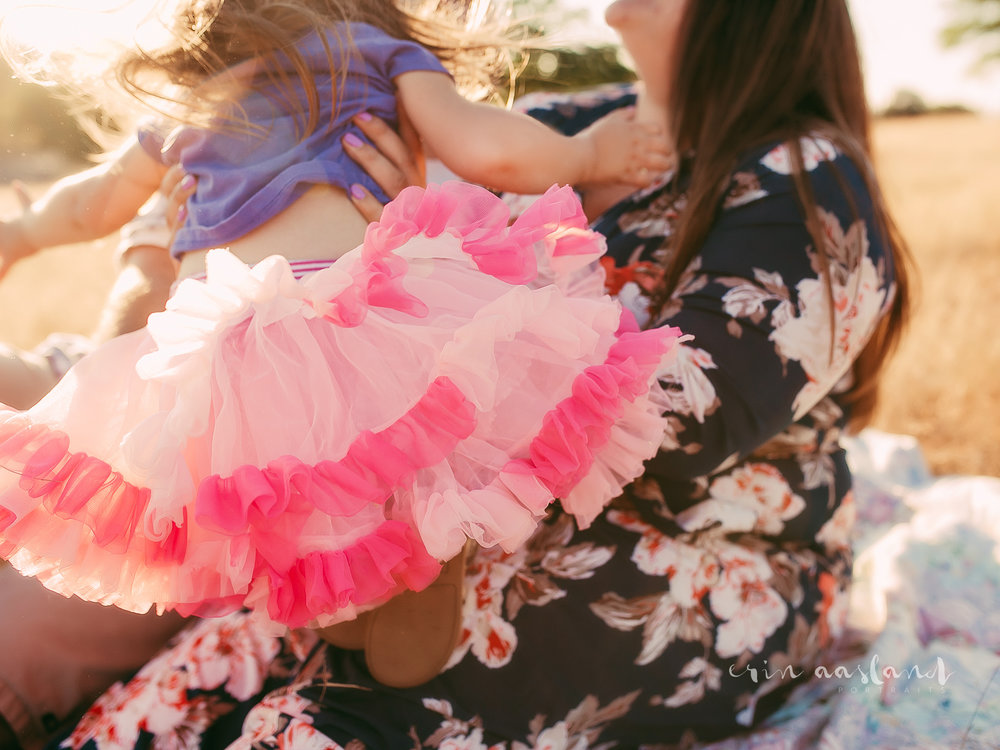 Erin Aasland Snoqualmie Family Photographer jumping tutu