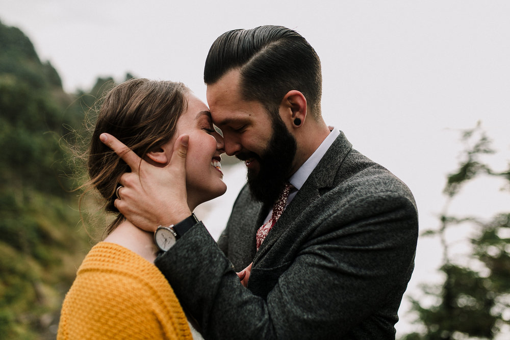 Erin Aasland Elopement Oregon Coast