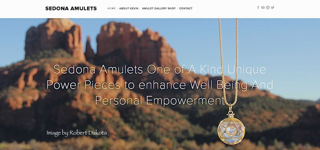 Sedona Amulets  World Class Artistry   by Kevin Petrilli