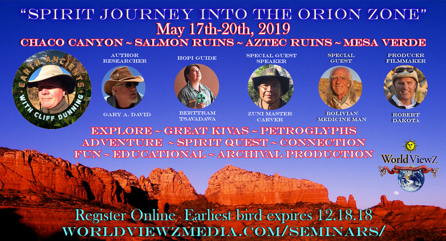 Orion Spirit Journey Chaco Canyon