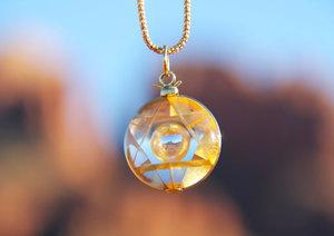 Merkaba Amulet by Kevin Petrilli