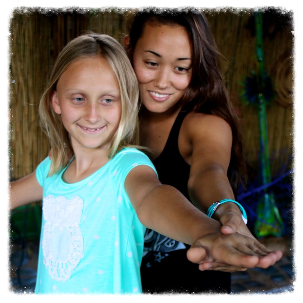 Kay uses gentle guidance to mentor girls toward their goals.