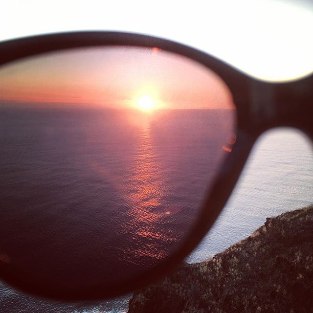 I guess it's true what they say-- I really DO see the world through rose-colored glasses.