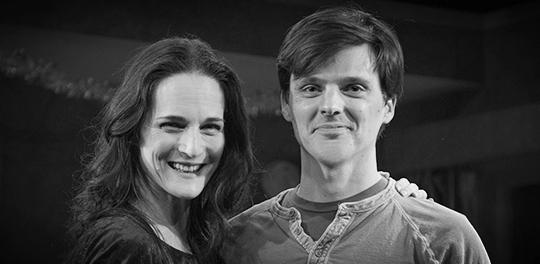 photo courtesy :  Broadwayworld.com / director Charlotte Cohn (left) and playwright Jason Odell Williams (right)