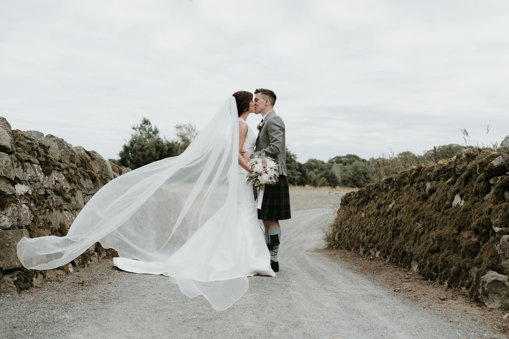 Kerry & Steven - Meldrum House Hotel