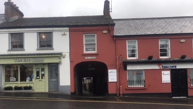 The Chimes entrance from Ballynahinch Street, Hillsborough
