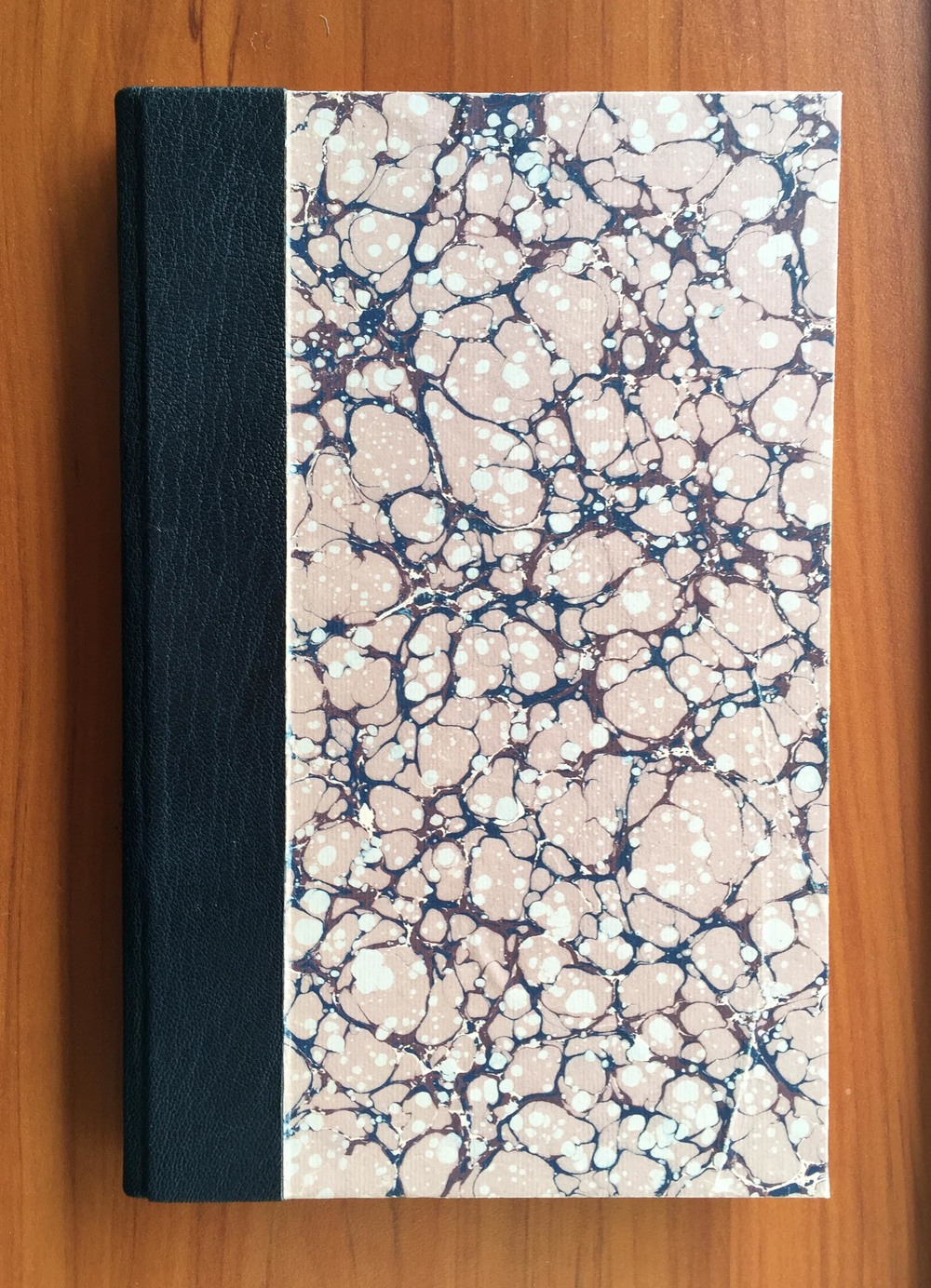 Marbled paper cover