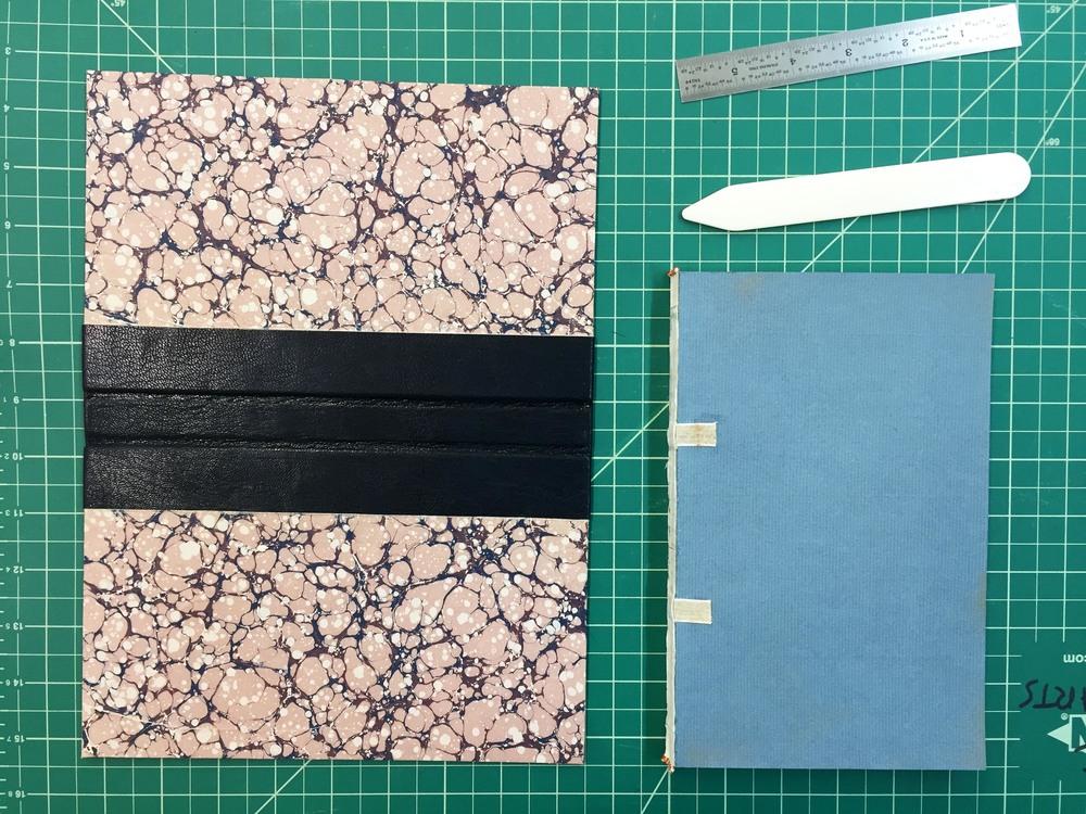 German case binding in progress
