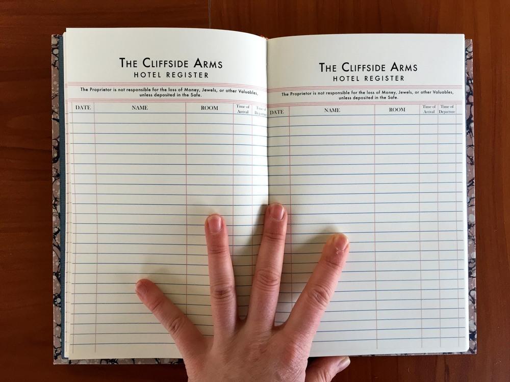 The Cliffside Arms Register Paper