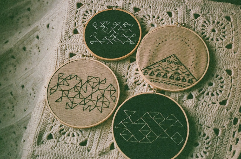 Four Embroideries