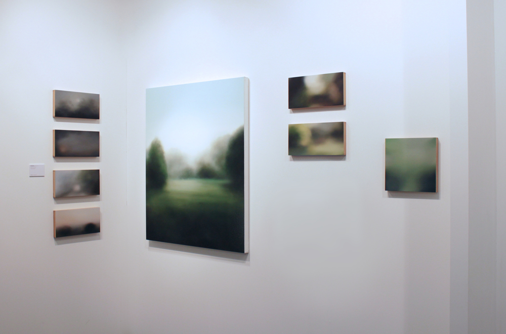 The Space Series and Wherever II at GBS Fine Art Stand 29 London Art Fair