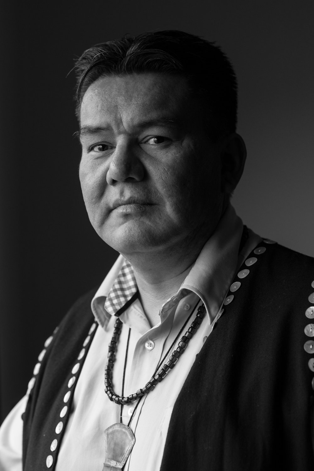 "Skil-Hilans, Allan Davidson, Hereditary Chief, Haida Gwaii:  ""Our ancestors had a way of managing our relationship with the sea otters, they had a place in the ecosystem. With today's laws there is a delicate balance and Indigenous people need to be a part of the discussion regarding their management."""