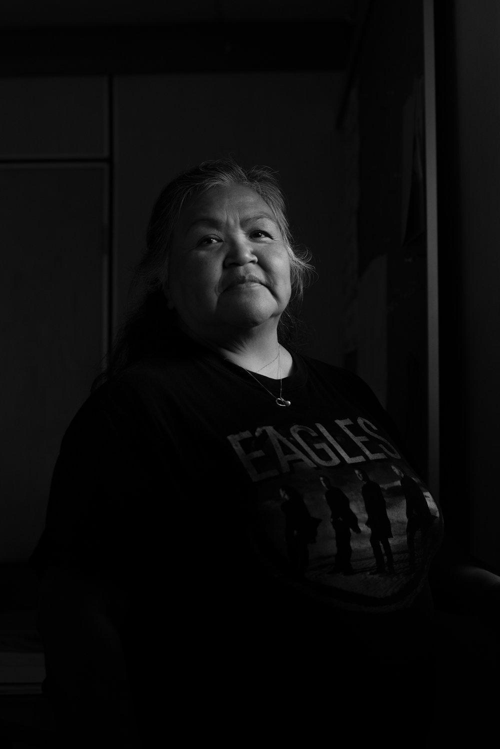"Hiišiiqwth, Natalie Jack, Education administrator, Kyuquot/Cheklesaht Nation:  ""I believe there is more than one factor that stops us from coexisting with the otter, and that's the no-consultation with our people by the federal government and the responsibilities that have been taken from us as a people."""