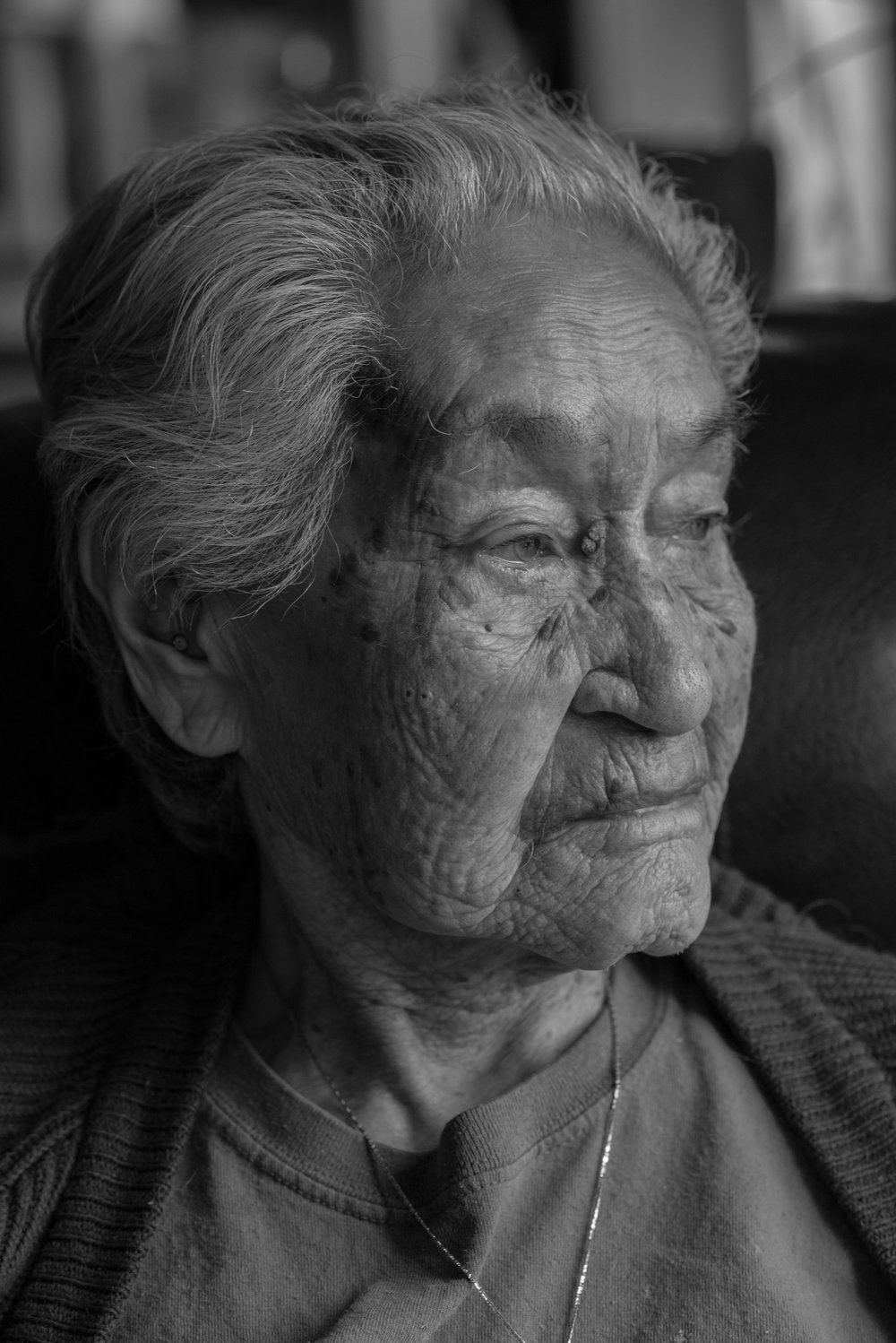 "Saqᵂistl, Hilda Hanson, Elder, Kyuquot/Cheklesaht Nation:   ""We had big clam beaches in Kyuquot, Actis. It was the best clam beach that ever was. All kinds. Big clams, little clams. It was all there, the littlenecks. We used to just go down the beach, dig what we want to eat, we just have to take a can. There was so many. And all of the people used to dig there.  They didn't go anywhere else. No more. No more clams. That's whenk̕wak̕aƛ  [sea otter] came around. Ate up all the clams. We had to go somewhere else."""
