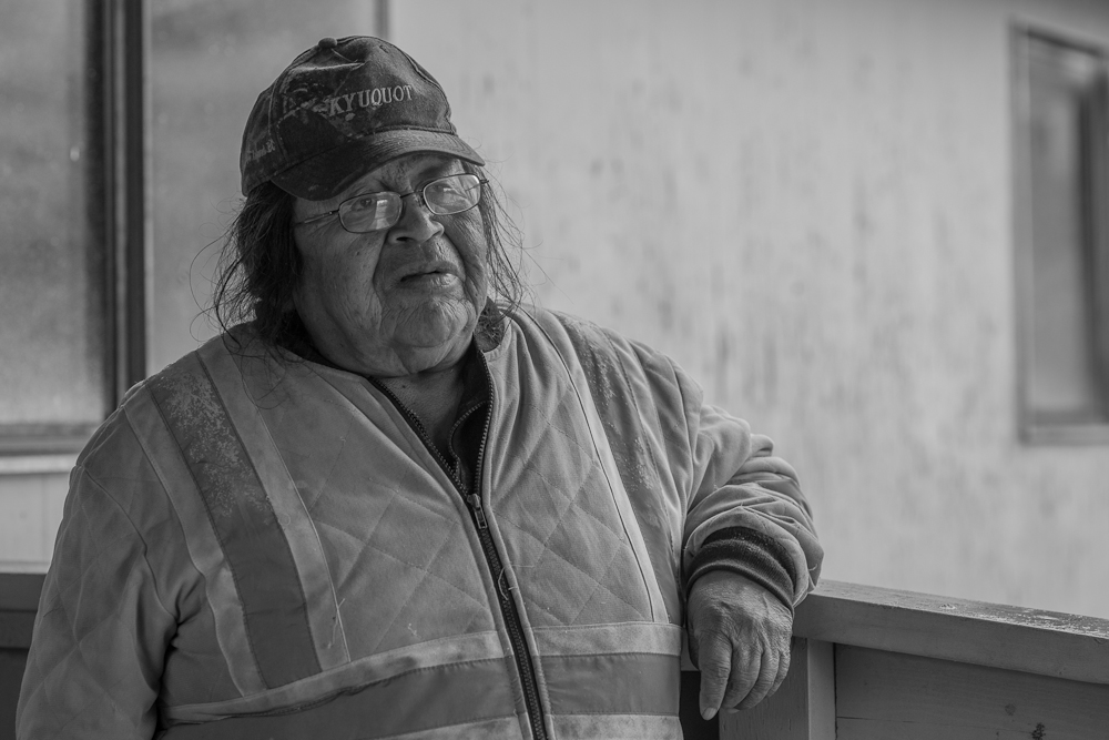 "Danny Short, Fisheries Technician, Kyuquot/Cheklesaht Nation:   ""You just have to introduce people to what they [sea otters] are and why they were here. I keep telling them the creator put them here. And these guys keep saying ""Oh no, he made a mistake"".  Well, you tell that [to] the creator!"""