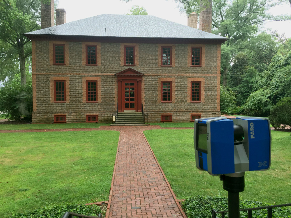 WILTON HOUSE MUSEUM - RICHMOND, VA -1753