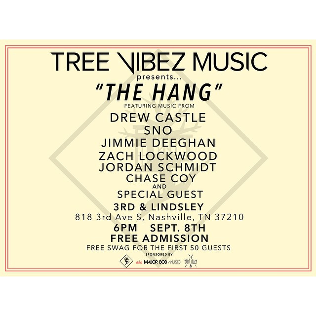 Nashville friends: I highly recommend you checking out this show tomorrow night. It's going to be one hell of a party🎉