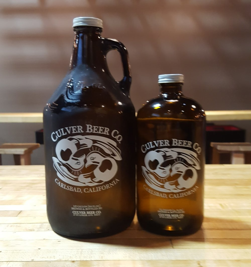 We now offer 32 ounce Growlers!