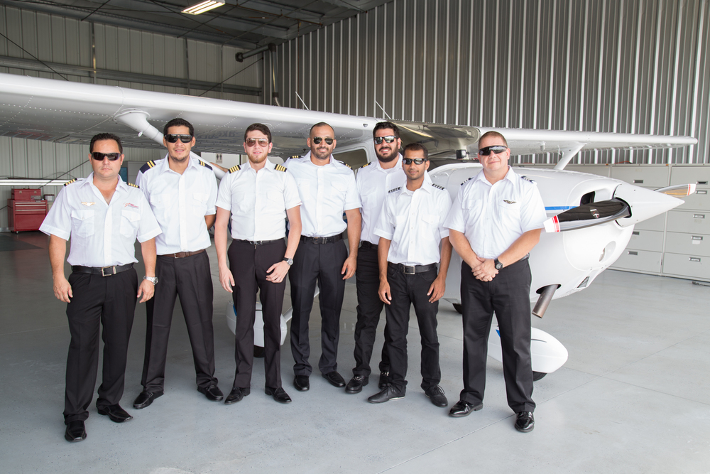 International Student Pilots