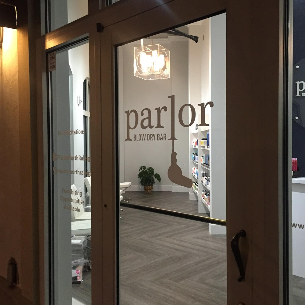 Parlor Dry Bar located in Lafayette Village