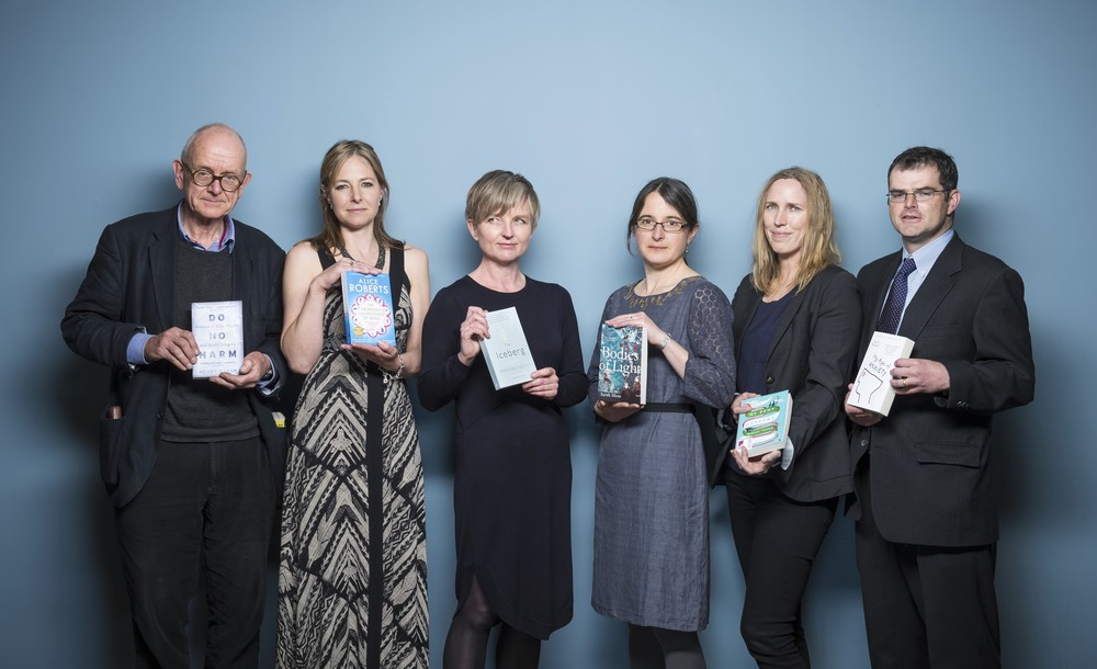Shortlistees for the Wellcome Book Prize 2015