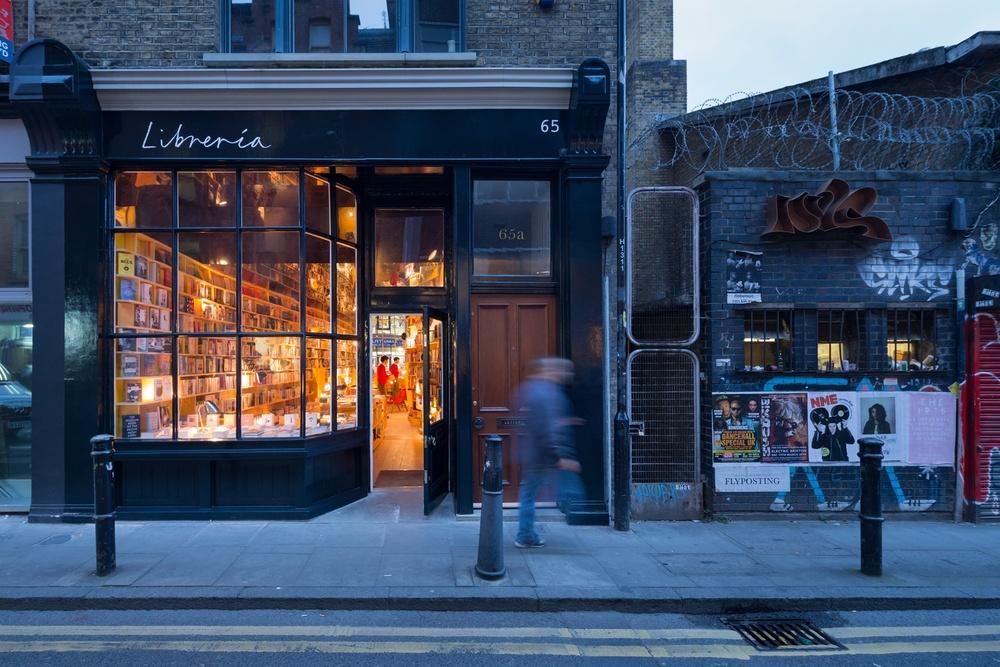 Libreria, 65 Hanbury Street, London. Credit: Iwan Baan.